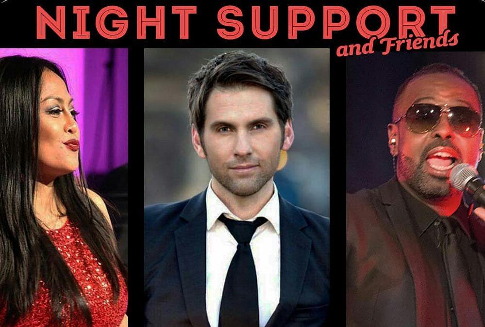 Night Support & Friends beim Brandenburgball 2019